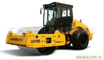 供应龙工全液压双驱单钢轮振动压路机(LG518D)