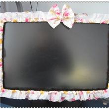 厂家直销批发蕾丝布艺电脑圈电脑套批发电脑罩批发电脑圈韩