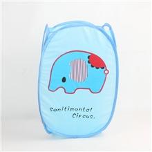 忧伤小象收纳篮洗衣篮脏衣篮等家居收纳用品支持定做