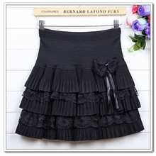 2013春夏女装新款毛呢蓬蓬裙百搭蛋糕裙半身裙3215