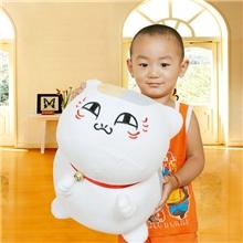 夏目友人帐公仔抱枕猫老师毛绒玩具布娃娃生日礼物