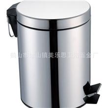 厂家直销时尚、特色、高档、不锈钢12L垃圾桶