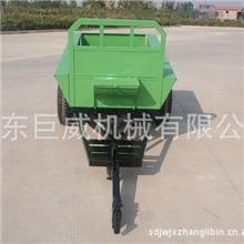 小型手扶拖车材料厚重转弯灵活经CE认证汽车拖车