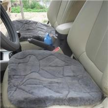 汽车坐垫无靠背包邮三件套单小方垫冬季纯羊皮毛一体特价厂家批发