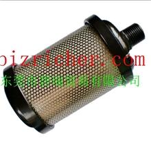 吸干机消音器,隔膜泵用消音器,排气消音器4分1/2螺纹接口