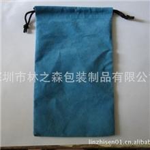 供应束口袋礼品袋拉绳小布袋咖啡色束口袋绒布袋