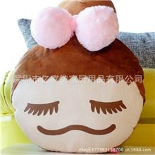 毛绒玩具定做吉祥礼品毛绒玩具企业形象定制梨花毛绒公仔娃娃
