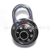保险箱式转盘密码锁健身房大挂锁大号