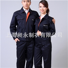 供应藏青色防静电加厚保暖工作服、工作服批发现货供应cy-jx10