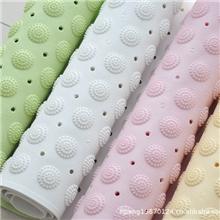 高档时尚圆点浴垫带吸盘无味按摩浴室垫浴缸垫/防滑垫/浴室垫