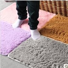 日式风格可水洗超柔细丝毛客厅卧室防滑地毯地垫
