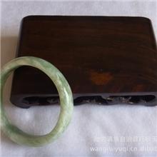 天然岫玉手镯天然玉石玉镯优质玉镯批发