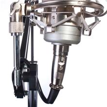 大号麦克风悬臂支架电容麦专用线k歌话筒桌面万向isk悬臂支架包邮