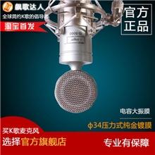 飙歌达人IS-5000专业录音k歌大振膜电容麦克风套装设备新品包邮