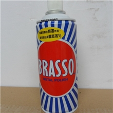 BRASSO巴素擦铜水(200ml/支*48支/箱),铜、钛金清洗剂