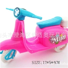 儿童玩具批发零售厂家直销回力车玩具556女装芭芘回力摩托车