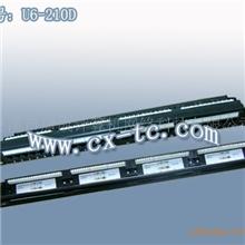 供应六类24口非屏蔽配线架(1U)U6-210D