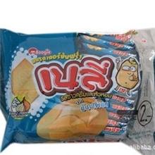 泰国原装进口薯工坊马铃薯薄脆饼干酸奶洋葱味192g*12包