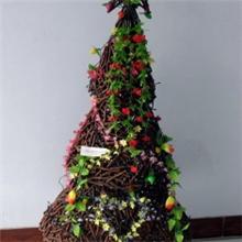 供应;干花切枝圣诞工艺品,圣诞树LED灯