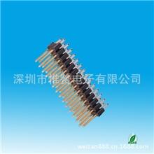 排针厂家2.54mm直插排针双排单塑排针