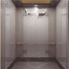 高级豪华电梯轿厢装潢图