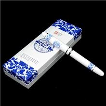 正品龙纹青花瓷签字笔金属刻字中国特色出国礼品送老外特价教师节