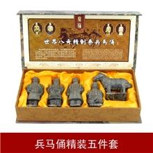 特色中国风礼品兵马俑工艺品摆件五件套外事出国送老外纪念品