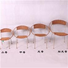 小藤椅pe塑料椅子藤椅家具厂家户外休闲儿童藤椅批