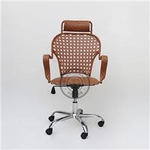特价塑料椅子弓形家用电脑椅转椅时尚办公电脑椅批发