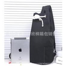 新款韩版男包超大容量旅游双肩包休闲包帆布包书包水桶包帆布袋