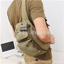 2013新款帆布包男韩版女休闲户外旅行包包小包男包女包腰包胸包