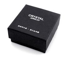 时尚饰品包装盒水晶饰品礼品盒工艺耳钉项链首饰礼品盒批发