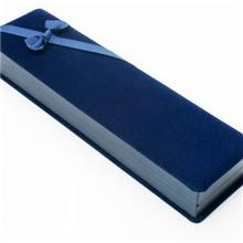 【9.4备货节】蝴蝶结长方形绒布高档珠宝饰品首饰盒包装盒