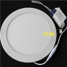 LED圆形面板灯40W、贴片2835面板灯LED超薄面板灯、LED面板天花灯