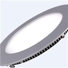 LED圆形超薄面板灯9W、LED2835贴片面板灯LED高亮面板灯