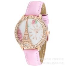 爆款女士手表正品韩版时尚流沙水钻手表韩国mini学生手表批发