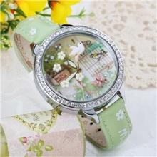爆款韩国mini手表软陶女士手表时尚水钻手表女表高档学生表