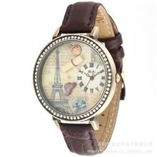 供应韩国女士潮流创意韩版饰品埃菲尔复古手表MN1038